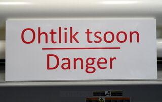 Varoituskyltti Danger