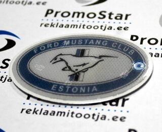 Ovaali muotoinen pehmoheijastin - Ford Mustang Club