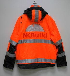 MK Build takki painatuksella
