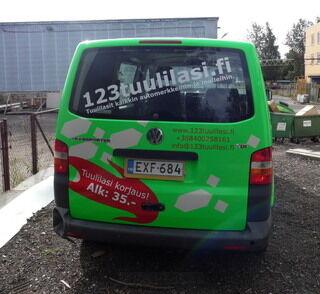 Auton teippaus 123tuulilasi