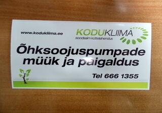 Logotarra KODUKLIIMA