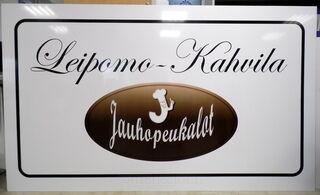 Mainoskyltti Leipomo-Kahvila