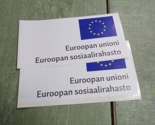 Euroopan Sosiaalirahaston tarrat