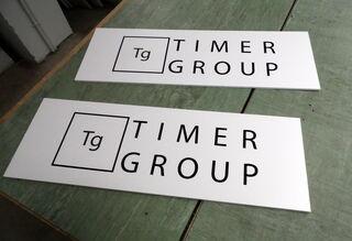 Mainoskyltti TIMER GROUP