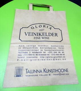 Paperikassi Gloria Veinikeldeer