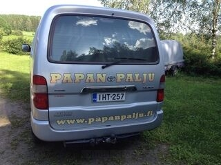 Autontarrat Papan palju ja karavaani