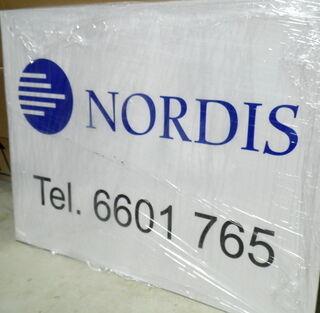 PVC kyltti Nordis