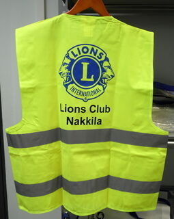 Heijastinliivi Lions Club Nakkila