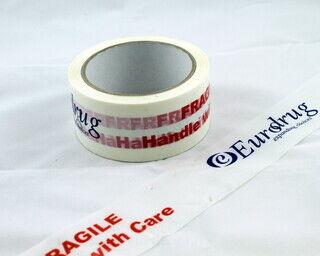 Pakkausteippi logolla