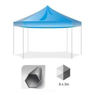 6 Hex Pop Up teltta