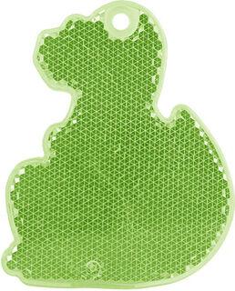 Heiastin dino 56x70mm vihreä